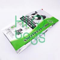 Manufacturers wholesale custom printing cat food LDPE slider bag laminated bag N3