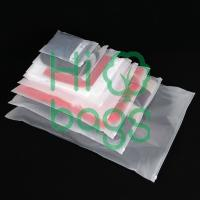 Manufacturers can customize LDPE ziplock bag frosted semi - transparent slider zipper bag N2