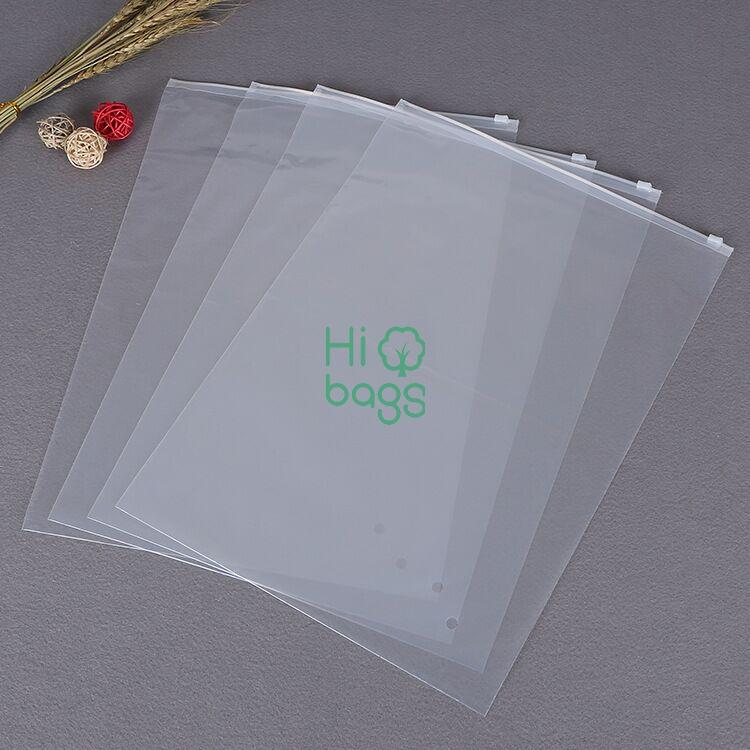 Wholesale LDPE Simple Type Slider Plastic Bag N