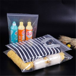 PE Zip Lock Clothes Package Bag W88