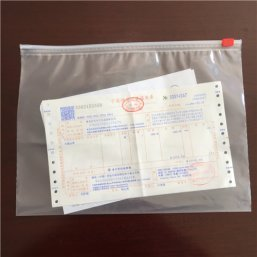LDPE Custom Design Slider Bags A