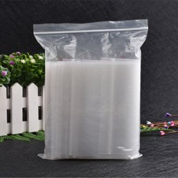 High Quality PE Clear Zip Lock Plastic Bag for Food Y