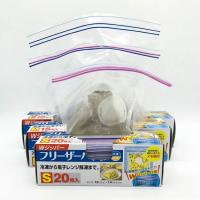 Food grade double seal boxed zip lock bag E