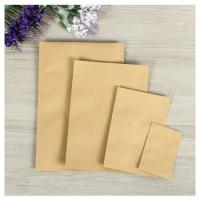 Customized Food grade kraft paper aluminum foil bag