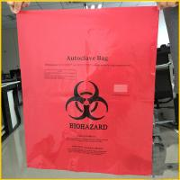 Large Capacity Factory Custom Autoclave Biohazard bag Autoclavable medical waste bags E3