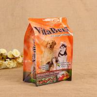 Laminated stand up pouch zipper food bag for pet dog food