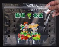 Breathing Plastic Bag for Fruits W09