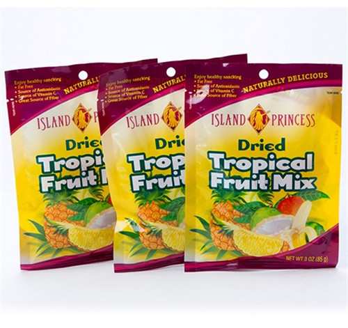 Dried Tropical Fruit Plastic Package Bag W27