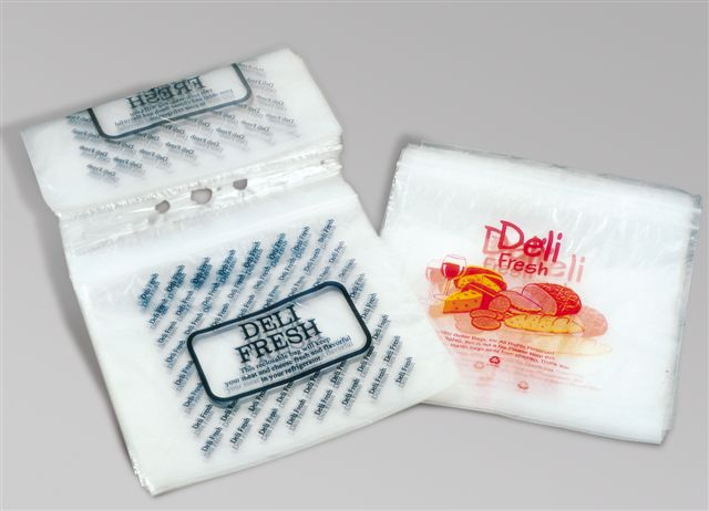 Fresh Food Plastic Slider Deli Bag DW03