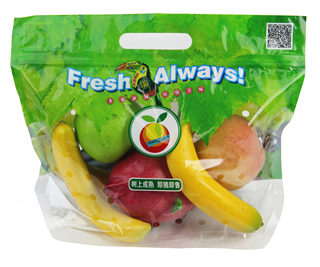 Fruit Poly Bag with Air H...