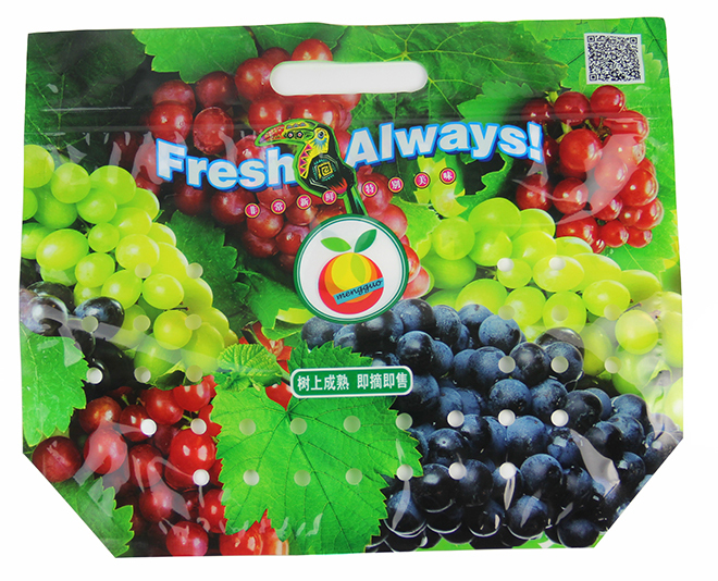 Fruit packaging bags with...
