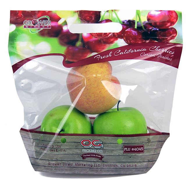 Gravure Printed Biodegradable Fruit Bags W03