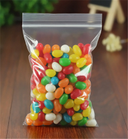 Hot Sale Clear Candy Storage Ziplock Bag W35