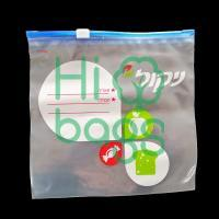 Custom Slider Storage Plastic Bags for Food Clothing Y01