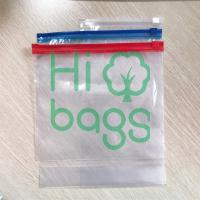 Custom Transparent PE Plastic Slider Zip Lock Packaging Bags Y01