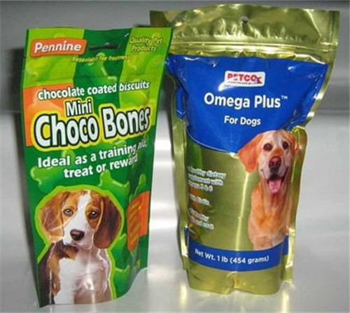 Laminated Plastic Bag for Pet Food W47