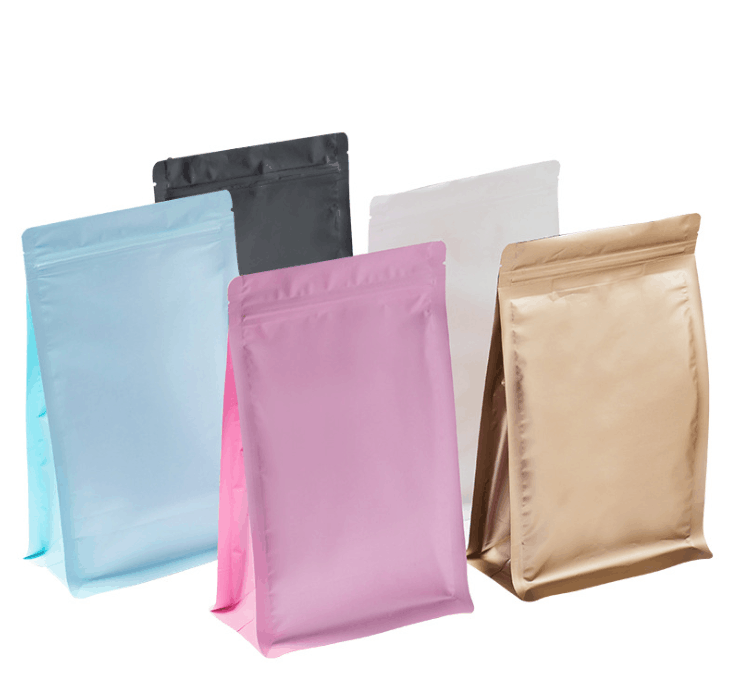 Customized Color aluminum foil zip lock bag