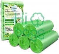 Biodegradable Trash Bags Extra Thick Small Trash Bag Recycling Garbage Bags M