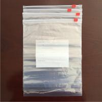 Slider packaging plastic bag A
