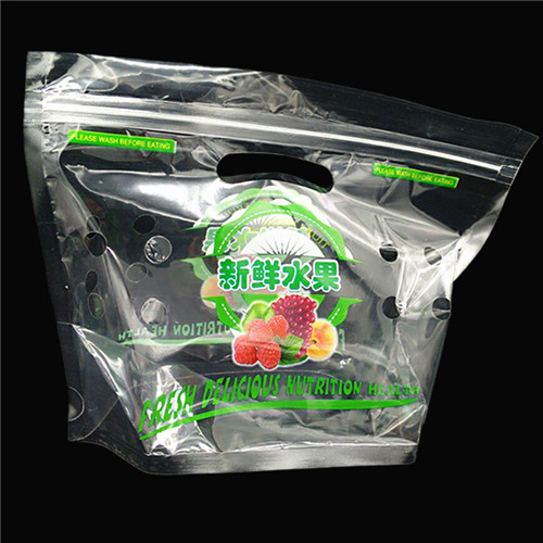 Practical Fresh Fruit Storage Plastic Bag W16