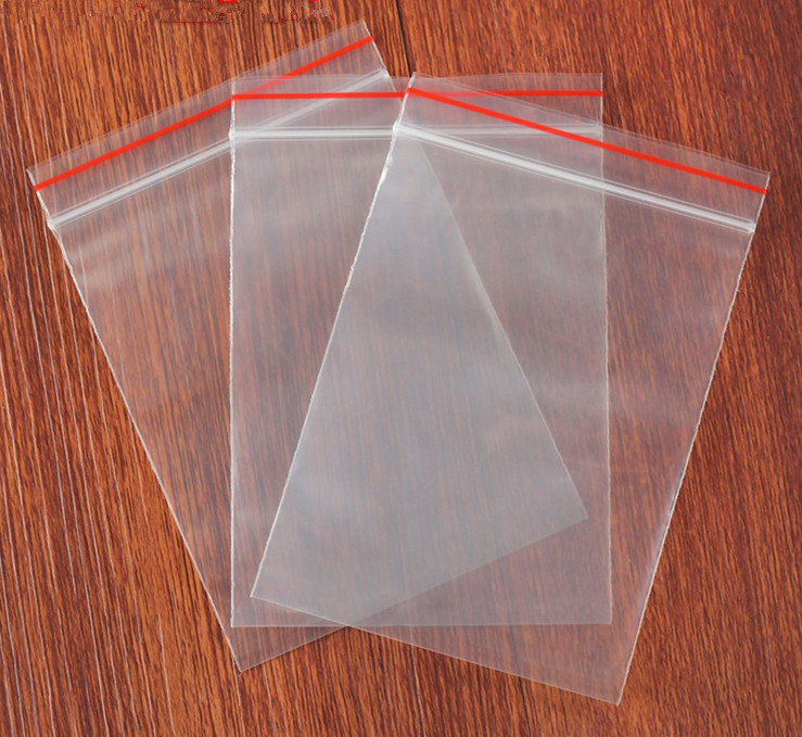 Practical Transparent Zip Lock Bag W86
