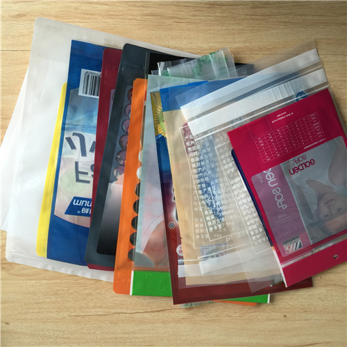 laminated plastic bags A