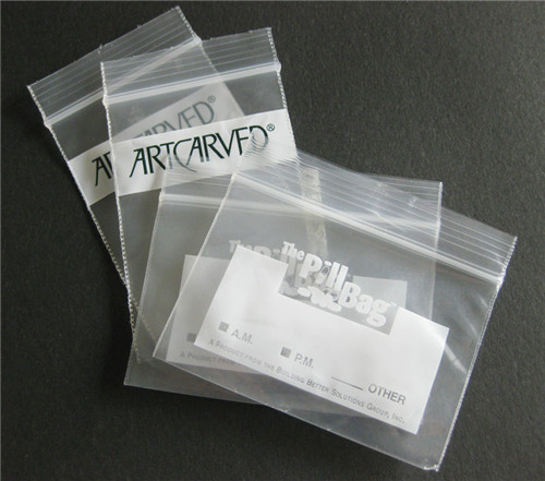 Small Zip Lock Bag for Medicine W08