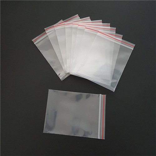 Zip Lock Poly Bag W17