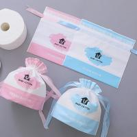 Manufacturer Promotional Polyester Plastic Drawstring Frosted Packing Bag N