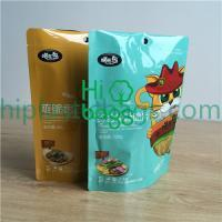 Stand up custom design polyplastic bag  A