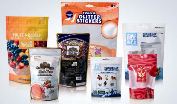 laminated plastic sachet packaging bag A