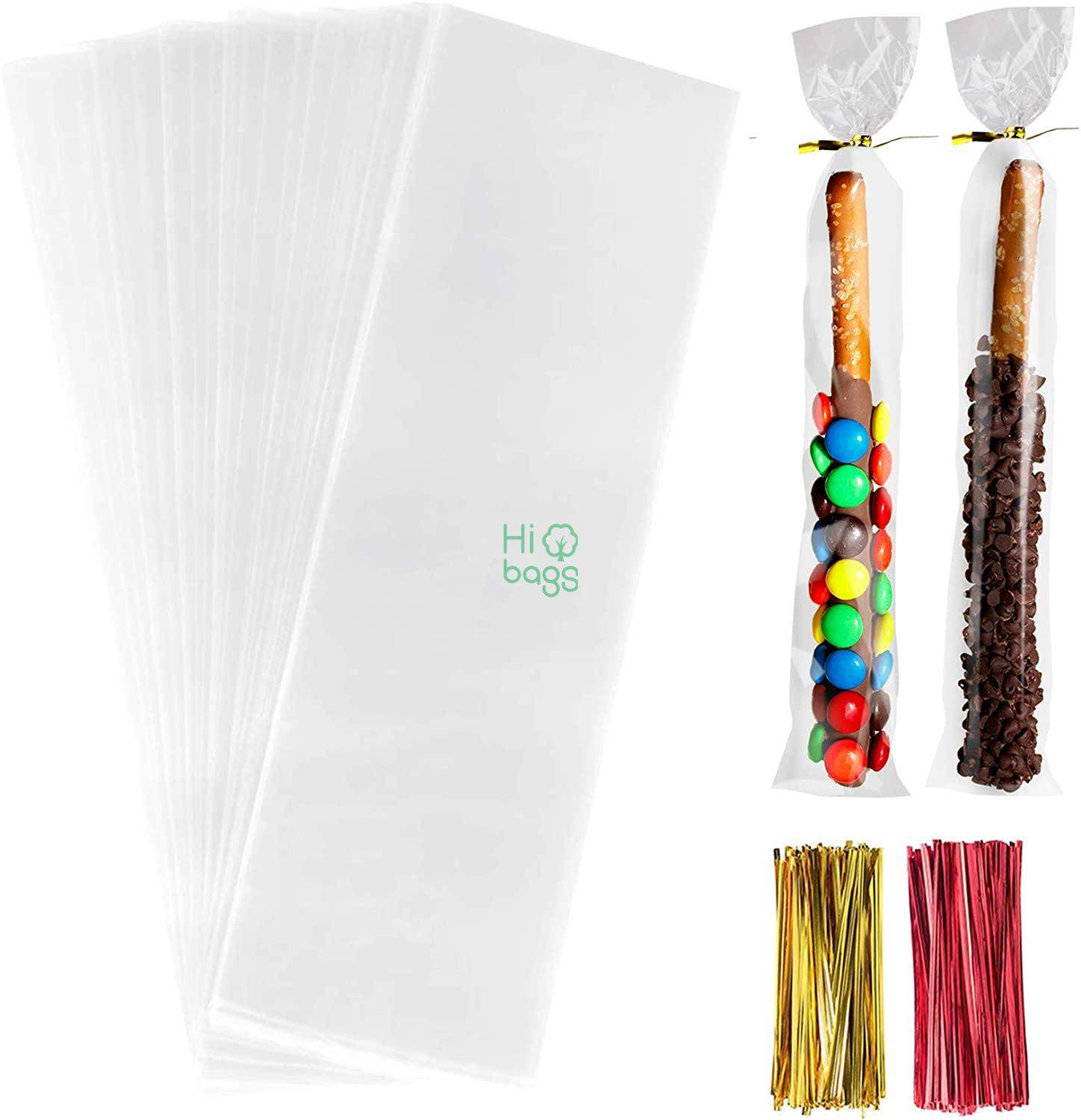 Cello Cellophane Treat Clear Long OPP Plastic Bags M