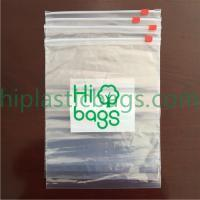 Slider plastic bag A