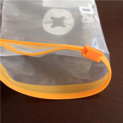 Ldpe printed slider zipper bag A 48d308f758622