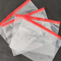 Customized high quality transparent LDPE slider bag