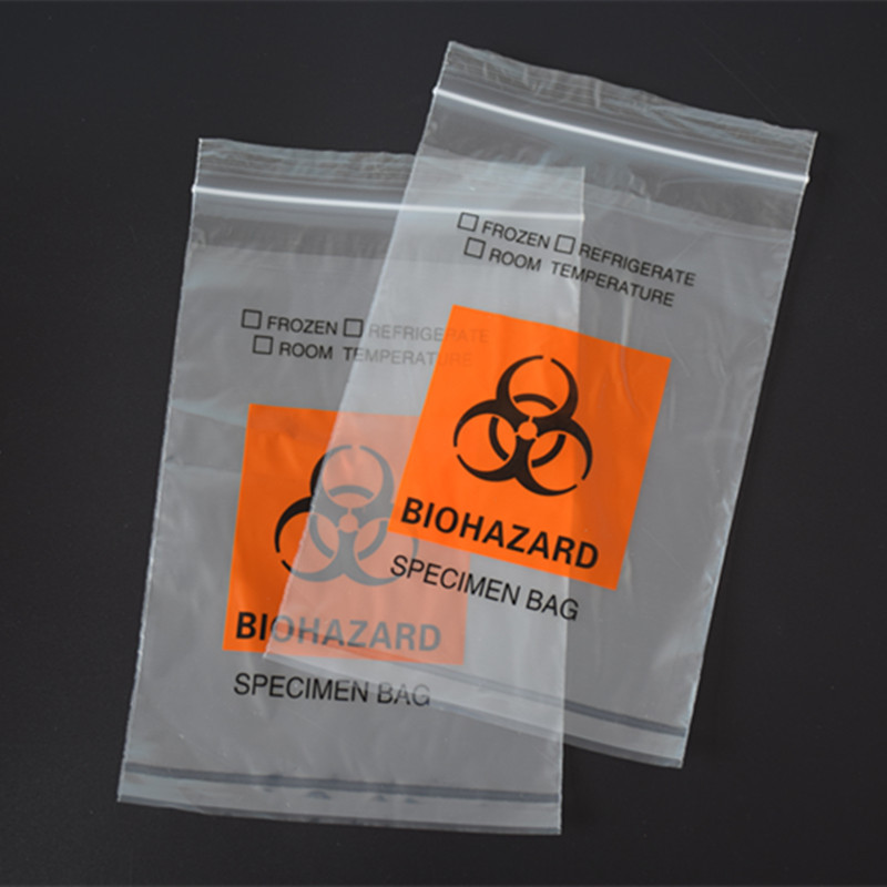 Medical specimen bag collection bag biohazard transport bag E