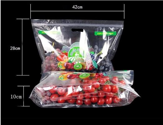Fruit Bag with Air Holes for Grape Packaging Bag A