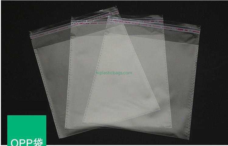Opp/pp  bags for cloth A1