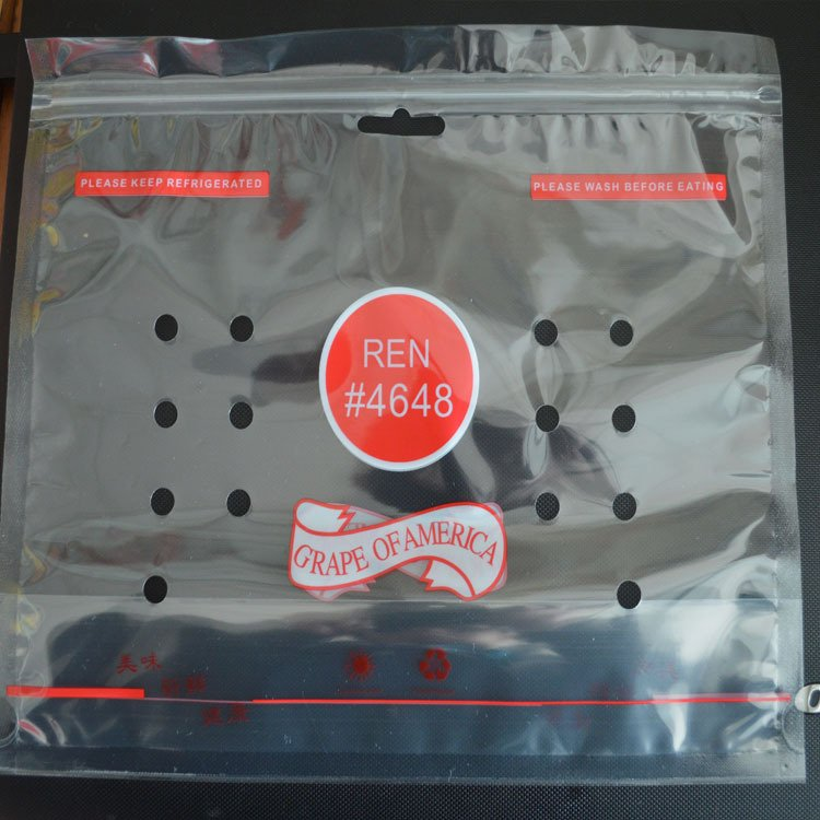 Fruit Bags  breathable plastic packaging bags E