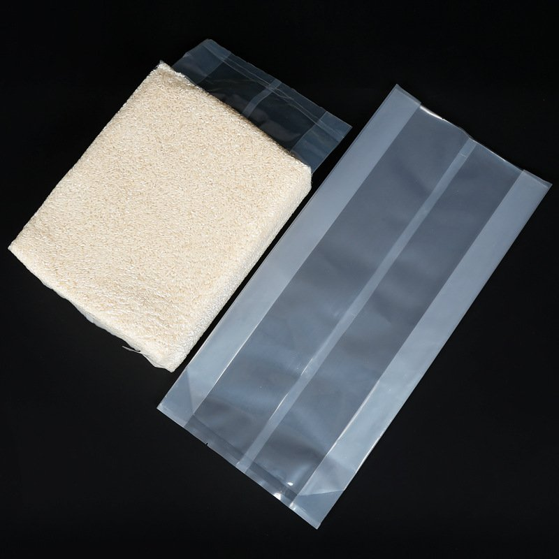 Manufacturer vacuum bag transparent food bag rice bag plastic bag E