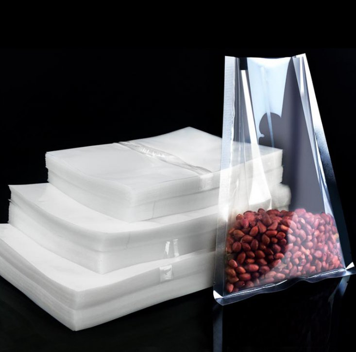 Heat-Resistant Cooking Food Grade clear vacuum packing bag for food E