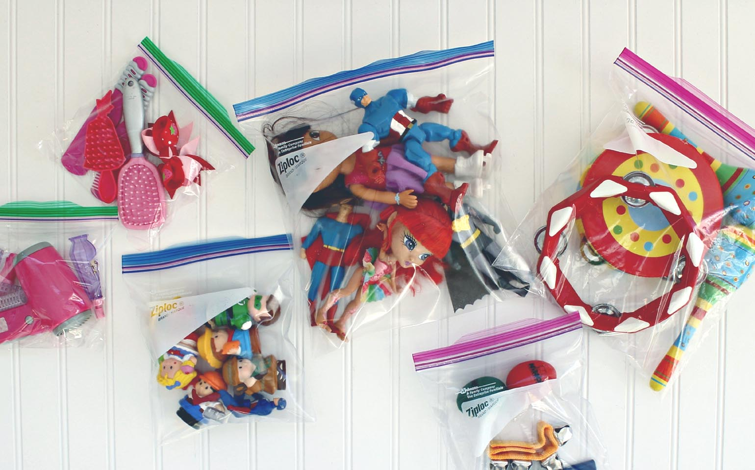 ziplock toys packaging bags A
